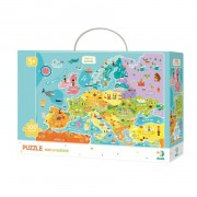PUZZLE - DESCOPERA EUROPA (100 PIESE) - DODO (DO300124)