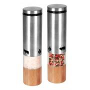 Elektrický mlynček na korenie a soľ TKG PSGR 1000 CS