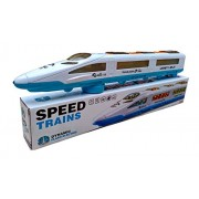 High Quality Speed Bullet Train Toys For Kids With 3D Lights & Music Sound Auto Moving System Long Musically Bullet Train Toys For Small Kids High Performance Dynamic 3D Flash Auto Move Train Change The Direction After Strike To any Obstacle (Wall) Automa