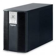 LEGRAND KEOR LP 1 kVA 5 perc BEM: C14 KIM: 3xC13+1xFR RS232 SNMP szlot online kettős konverziós szünetmentes torony (UPS)