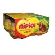 Nipiol (Heinz Italia Spa) Nipiol Omog Vitello 4x80g
