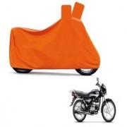 Kaaz Full Orange Two Wheeler Cover For Splender Plus