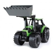 Tractor cu cupa functionala Deutz Fahr Agrotron 7250 Worxx pentru copii, 45 cm
