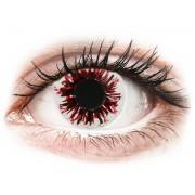 CRAZY LENS - Harlequin Black - Tageslinsen ohne Stärke
