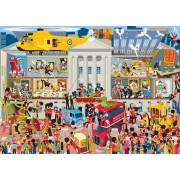 Puzzle Gibsons - Lifting The Lid - Buckingham Palace, 1.000 piese (G7097)