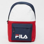 Fila UL new backpack s'cool two - Blauw,Rood,Wit - Size: One Size; unisex