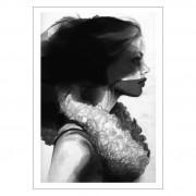 Anna Bülow-Face 2 Poster 70x100cm