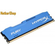 Kingston 4GB DDR3 1866MHz (HX318C10F/4) HyperX Fury Blue CL10 Memória (3 év garancia)