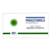Zeta farmaceutici spa Paracetamolo*20cpr 500mg