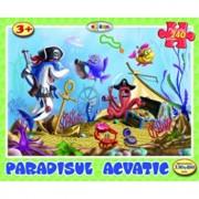 Puzzle - Paradisul acvatic (240 piese)/***