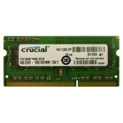 Crucial memorija (RAM) za prijenosno računalo DDR3 4GB 1600 MHz (CT51264BF160BJ)