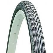 Cauciuc 22x1-3/8 (37-490) K128 negru cu lateral alb