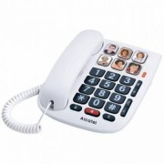 Alcatel Fast telefon för äldre Alcatel TMAX 10 LED Vit