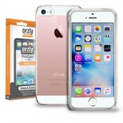 Husa Orzly FlexiCase iPhone 5S iPhone SE iPhone 5 Transparenta
