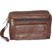 Safex Neck Pouch(Brown)