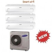 Samsung Trial Serie Ar5500m Wi-Fi Aj068fcj3eh/eu + 3 X Ar09kswnawknet 9+9+9