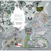 Bestiar fabulos. Carte de colorat pentru adulti