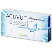 Johnson and Johnson Acuvue Oasys (12 lentes)