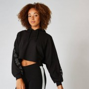 Myprotein Icon Cropped Hoodie - Black - S