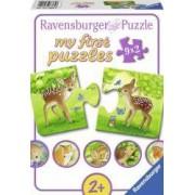 PRIMUL MEU PUZZLE ANIMALUTE 9x2 PIESE Ravensburger