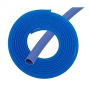 "Kit Phobya pentru sleeving cabluri 3mm (1/8"") 2m incl. Heatshrink 30cm - UV Blue"