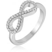Beneto Stříbrný prsten Nekonečno AGG208 60 mm