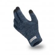 Rękawiczki męskie PaMaMi - Granatowa mulina