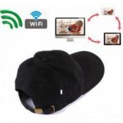 Sapca cu Camera Spion iUni SpyCam SP13 Foto-Video Audio WiFi Modul P2P FHD 1080P