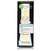 Garnier bb cream per pelli miste o grasse medio chiara perfezionatore di pelle 5 in 1 skin naturals