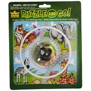 Wild Republic BLST Puzzle Track Car Animal, Green