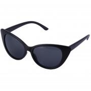 ER Women Ladies Cat Eye Retro Vintage Style Rockabilly Sunglasses Eye Glasses Negro Y Gris Del Marco De Cristal