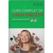 Curs complet de limba engleza Pons. Manual cu exercitii si aplicatii + 2 CD-uri audio