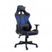Fotel biurowy Racer Pro czarno-niebieski