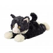 Merkloos Magnetron warmte knuffel kat zwart 38 cm