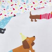 LA REDOUTE INTERIEURS Duvetbezug aus Bio-Baumwolle Doggy