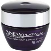 Avon Anew Platinum crema para contorno de ojos y labios 15 ml