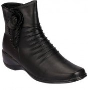 Ala Mode Boots For Women(Black)