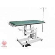Állatorvosi műtőasztal (Vet-OD1), elektromos magasítással