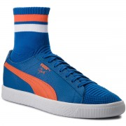 Сникърси PUMA - Clyde Sock NYC 364948 03 LBlue/Slbis/Puma White