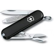 Victorinox Classic SD Black 3 Function Multi Utility Swiss Knife(Black)