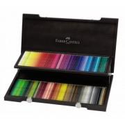 Set creioane colorate Acuarela Albrecht Durer, cutie lemn, 120 buc/set Faber-Castell
