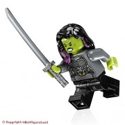 LEGO Super Heroes: Guardians of the Galaxy Vol. 2 MiniFigure - Gamora (Silver Armor)