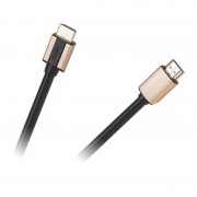 Cablu digital, HDMI - HDMI, 10 m, Basic edition 1.4, Negru