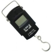 Cierie 50Kg Portable Luggage Hanging Weight Machine Digital Weighing Scale(Black)