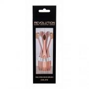 Makeup Revolution London Brushes Precision Pro Brush Oval Eye 1 ks štětec W