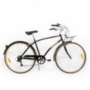 Bicicleta Pegas Popular 7 viteze-Otel Gri Spatial