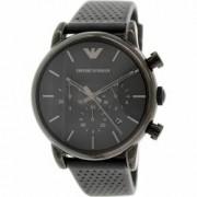 Ceas Emporio Armani barbatesc Classic AR1737 negru Leather Leather Quartz