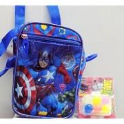 Picnic Bag (captain america theme) with free crazy balls 6pcs