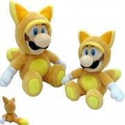 TOGETHER Peluche Luigi Fox 33cm Peluches