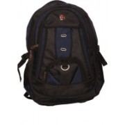 Zest 16 inch Laptop Backpack(Black, Blue)